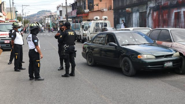 Tres hombres mueren por ataque armado en zona 6