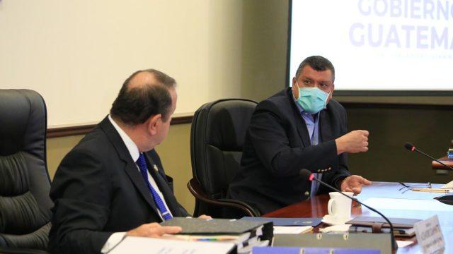vicepresidente Guillermo Castillo y presidente Alejandro Giammattei se pronuncian por elección de magistrados de CC