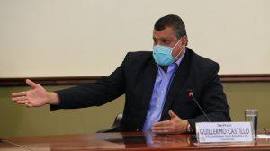 vicepresidente Guillermo Castillo expresa voto disidente por elección de CC