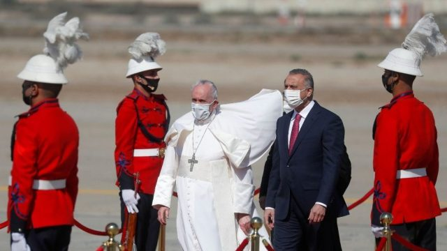 Papa Francisco realiza viaje a Irak