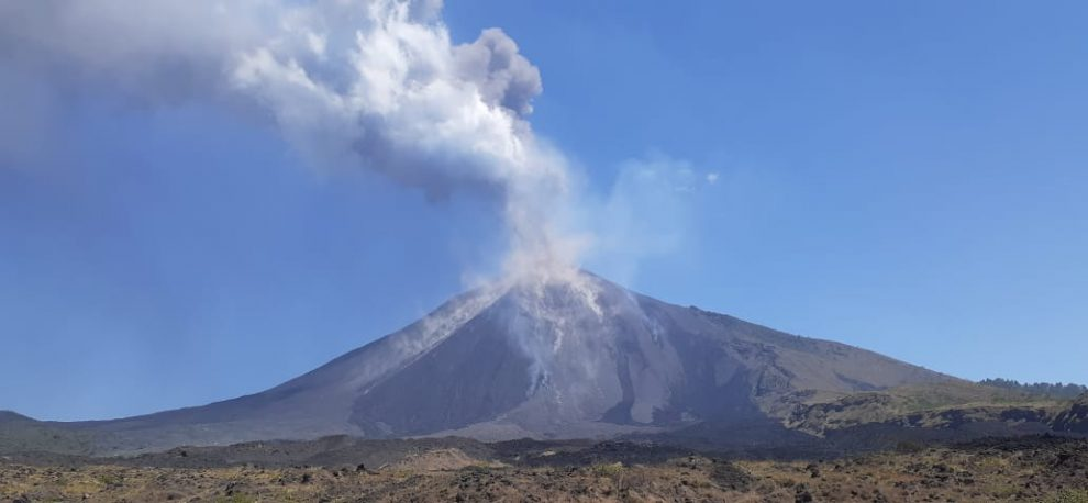 volcán de Pacaya inicia nueva erupción