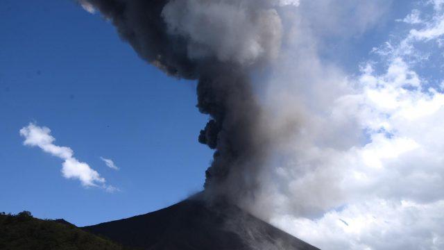 volcán de Pacaya incrementa actividad