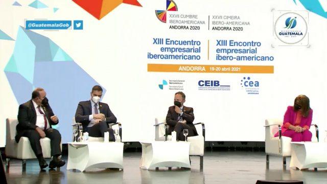 El presidente, Alejandro Giammattei, participó en la edición número 27 de la Cumbre Iberoamericana, desarrollada en Andorra.