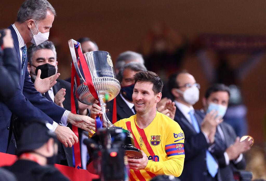 Barcelona campeón de la Copa del Rey 2021