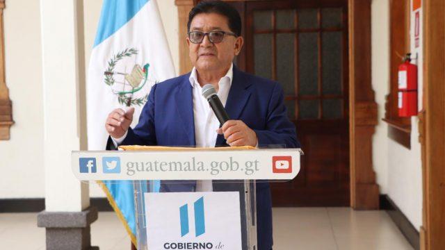 Guillermo Díaz, director de Migración.
