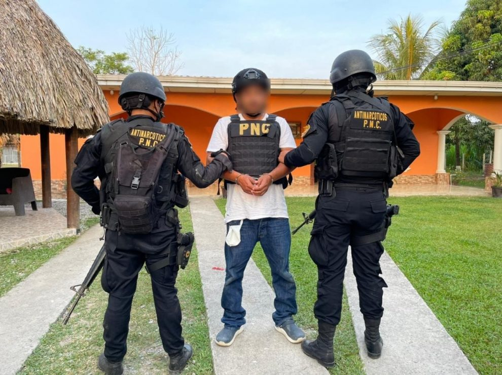 Juan Carlos Chacón Alvarado, requerido en extradición por EE. UU.