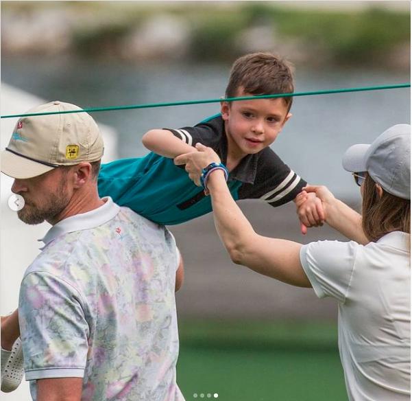 Justin Timberlake y su hijo3