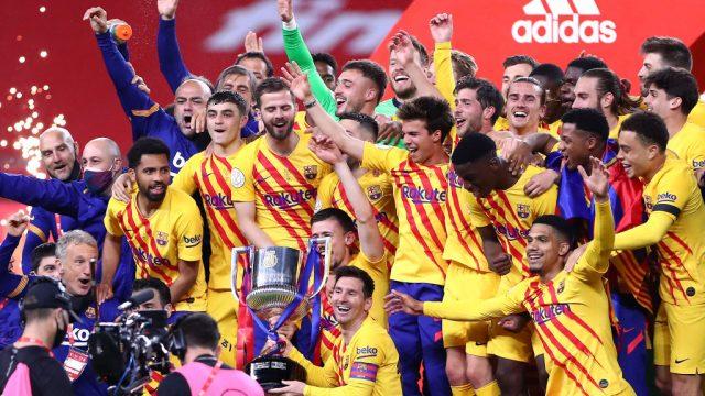 Barcelona campeón Copa del Rey