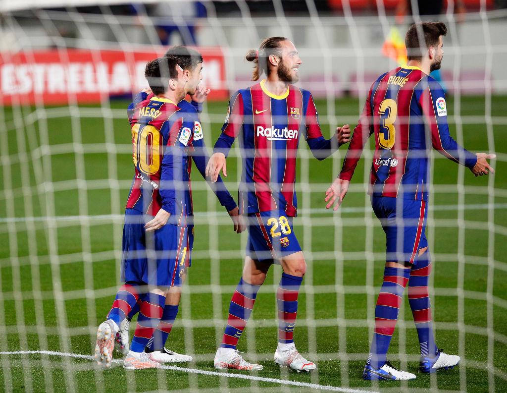 Resultado Barcelona vs Getafe por La Liga 2021