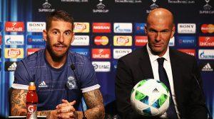 Zidane habla sobre lesión de Sergio Ramos