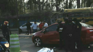 motorista muere en accidente en zona 12