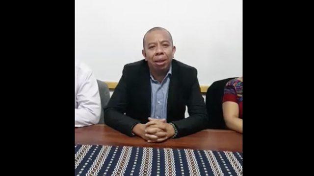 Aldo Dávila habla sobre el atentado en su contra en zona 1