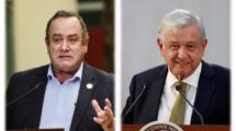 presidentes de Guatemala y México