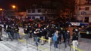 allanamientos contra extorsiones en Chimaltenango y Escuintla