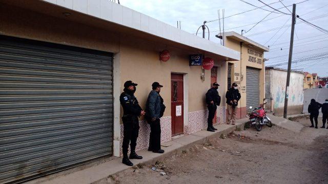 allanamientos en Jalapa por muerte de mujeres