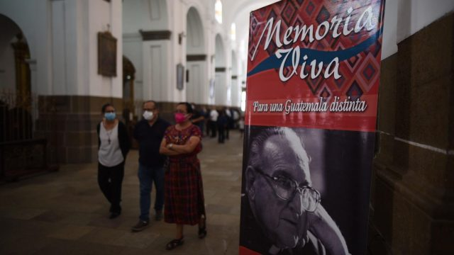 misa por aniversario de muerte de monseñor Juan Gerardi