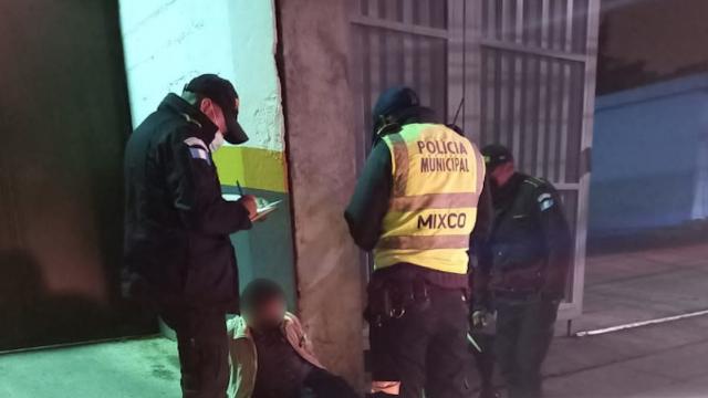 Disparan contra agente de Policía Municipal en Mixco