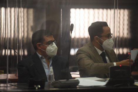 exdiputado Carlos López en audiencia de primera declaración en juzgado de Mayor Riesgo A, a cargo de Claudette Domínguez