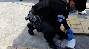 Decomisan 123 paquetes de cocaína en Escuintla