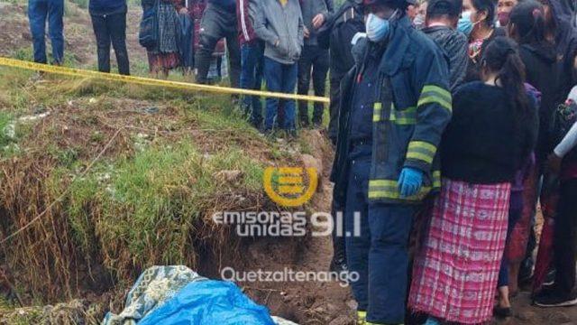 Una persona muere tras fuertes lluvias en Totonicapán