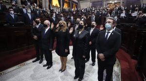 Congreso juramenta a magistrados de la Corte de Constitucionalidad