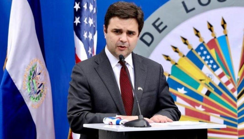 Ricardo Zuñiga, enviado especial de Estados Unidos para el Triángulo Norte de Centroamérica