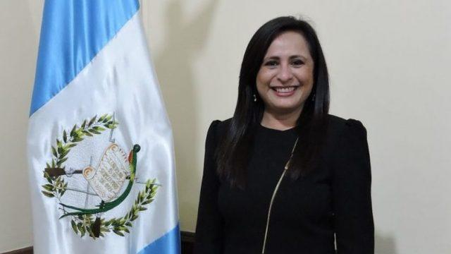 Patricia Letona, secretaria de Comunicación Social de la Presidencia