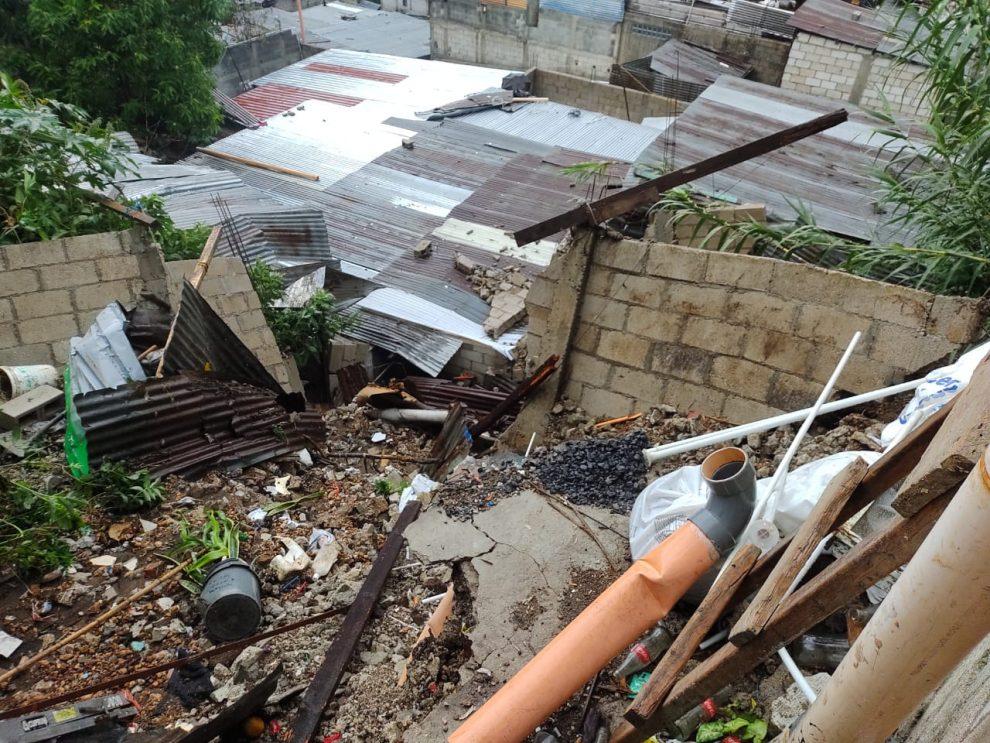 Lluvias dejan más de 5 mil afectados y 65 evacuados en las últimas horas