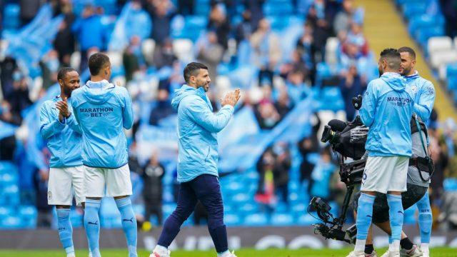 La emotiva despedida del Manchester City a Sergio Agüero