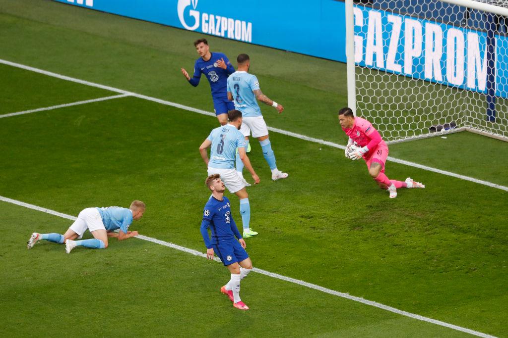Manchester City vs Chelsea, final Champions League