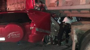 Agentes de la PNC mueren en accidente de tránsito en Escuintla