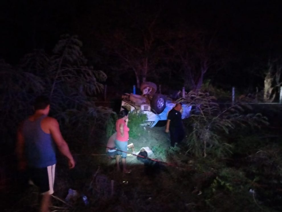 Migrantes guatemaltecos sufren accidente de tránsito en México