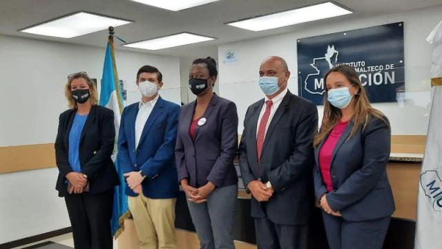 Acnur reconoce los esfuerzos de Guatemala en atención a refugiados