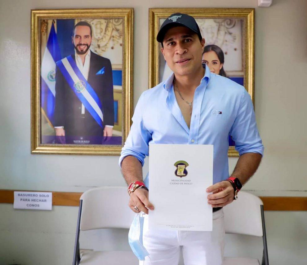 alcalde de Mixco, Neto Bran, pide vacunas a El Salvador