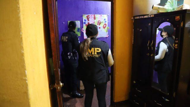 MP y PNC realizan allanamientos contra extorsiones