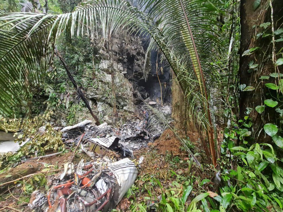 localizan avioneta accidentada en Livingston, Izabal