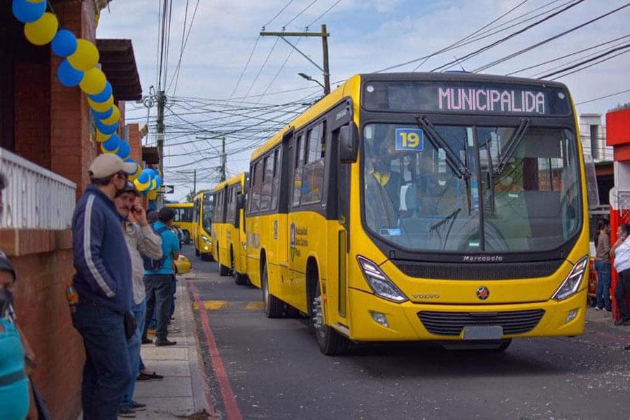 Buses nuevos de TransPinula