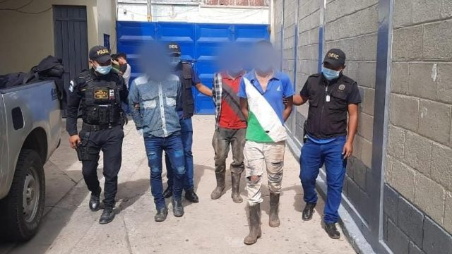 desarticulan banda de asaltantes en Jalapa