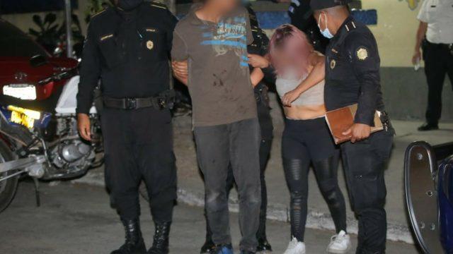 capturados en Villa Nueva por tener cadáver en vivienda