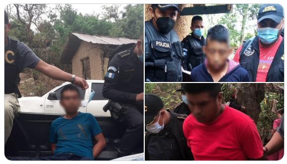 Capturan a implicados en asalto a personal del Ministerio Público
