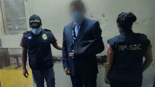 Capturan a exdiputado Julio López Villatoro