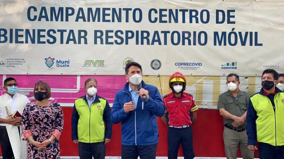 Habilitan un Centro de Bienestar Respiratorio en zona 16