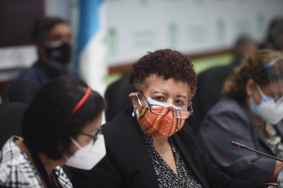 citación de la bancada UNE a la ministra de Salud, Amelia Flores