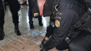 Decomisan 115 paquetes con cocaína en Puerto Quetzal