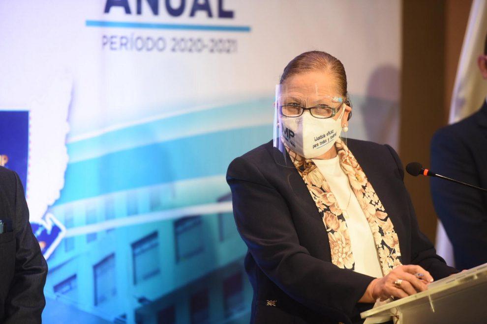 Fiscal General presenta tercer informe anual de gestión