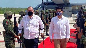 Presidente Alejandro Giammattei visita México