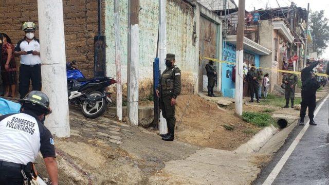 tres hermanos son asesinados en Chimaltenango