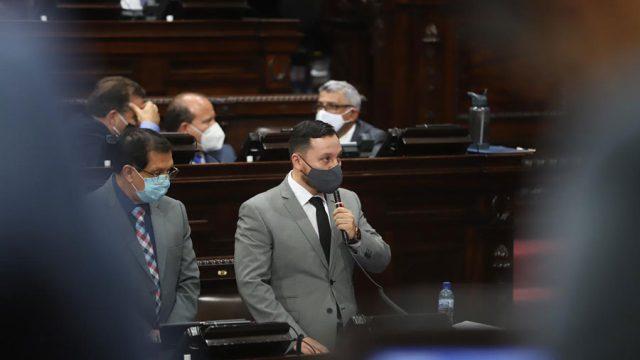 Culmina interpelación al ministro de Gobernación, Gendri Reyes Mazariegos