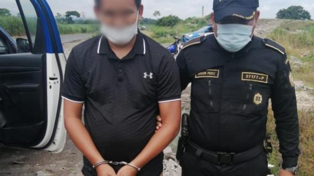 Julio Aníbal Batres Otzoy, capturado con fines de extradición