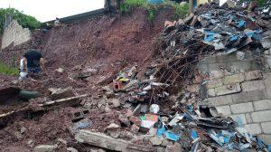 daños en escuela de Chiquimula por lluvias